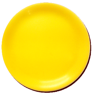 My Yellow Plate