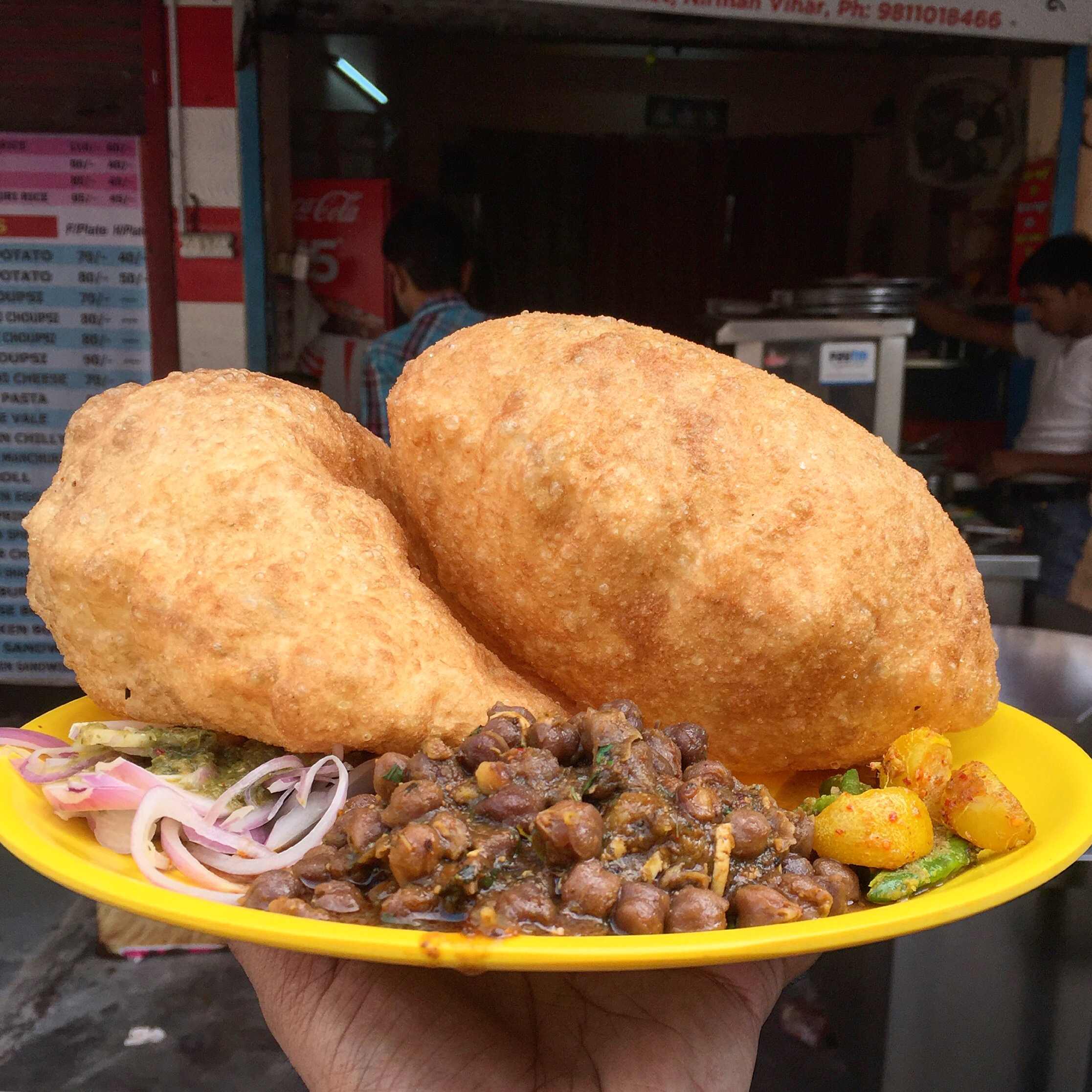10 Best Places To Eat Chole Bhature In Delhi My Yellow Plate