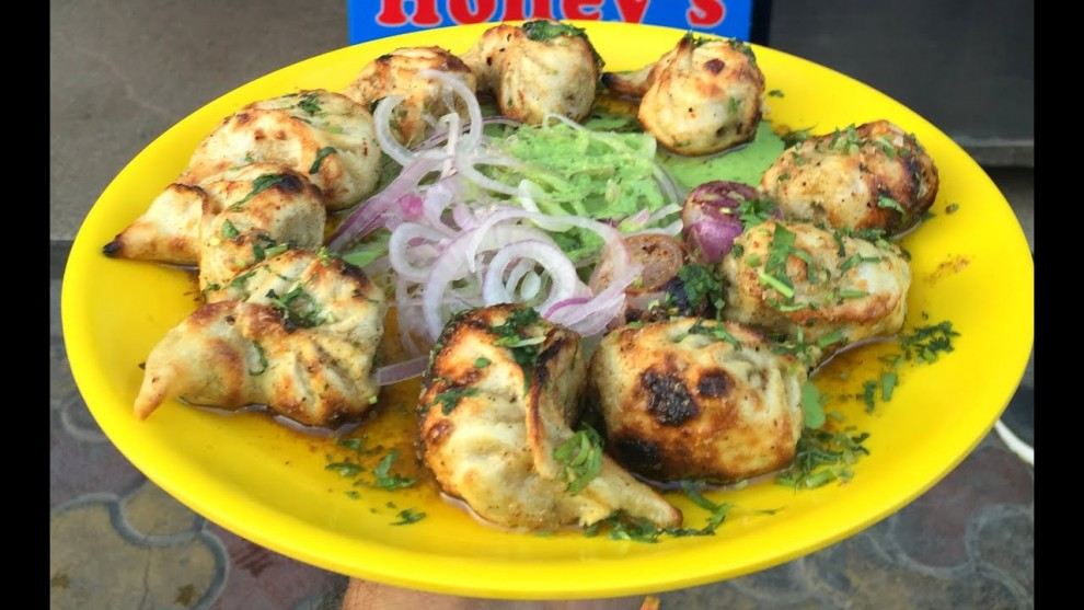 Honey's Veg Tandoori Momos Best Delhi